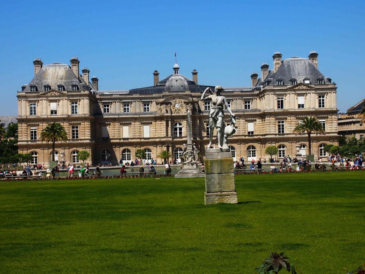 Le jardin du luxembourg for Jardin luxembourg
